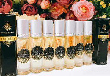 The convenience of Dubai Fancy essential oil in rolling form